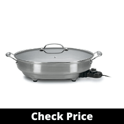 Cuisinart CSK-150 Nonstick Oval Electric Skillet