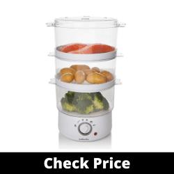 Sabichi 3-Tier Gourmet Food Steamer