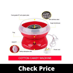 Vruta Plastic Cotton Sugar Candy Floss Maker Electric Machine