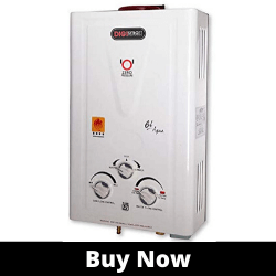 DIGISMART 6 LTR ISI Approved best LPG Gas Water Heater
