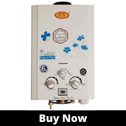 Surya Digital Instant best Gas Geyser with Heavy Copper Tank in 6 litres Instant_min with Temperature Display